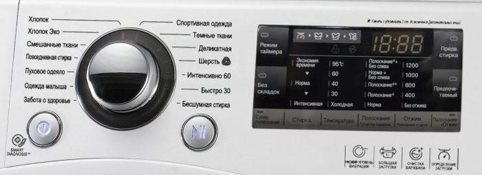 дисплей стиралки
