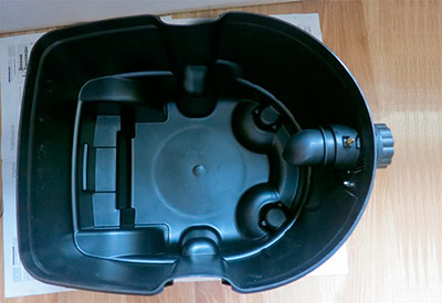 Как выглядит контейнер для пылесборника