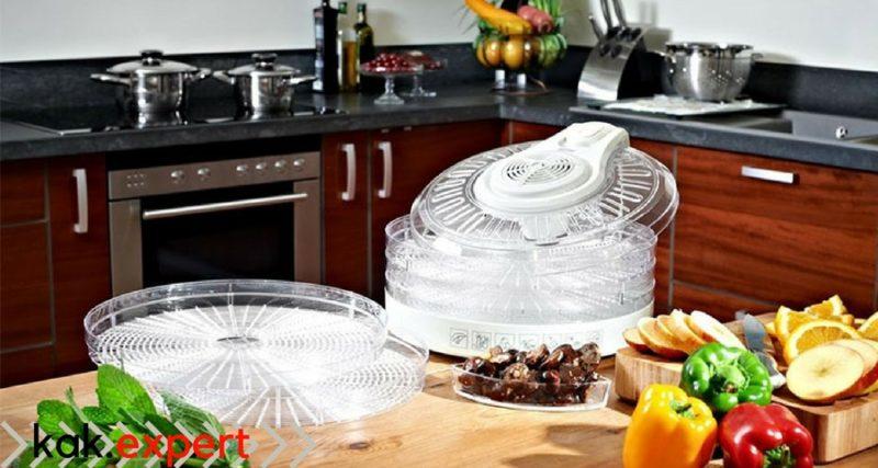 Как работает сушилка для фруктов