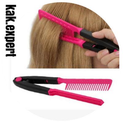 Расческая выпрямитель для волос