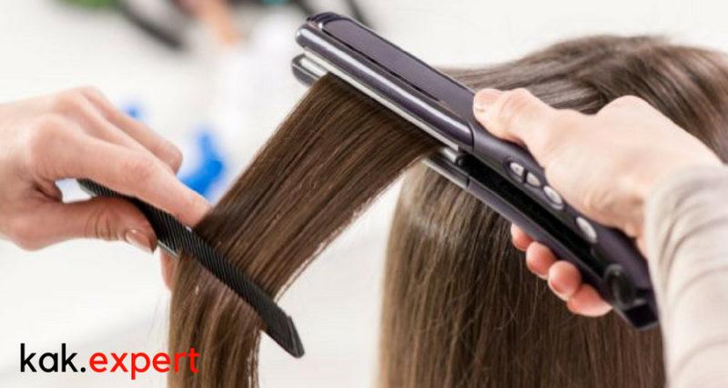 Принцип работы выпрямителя для волос