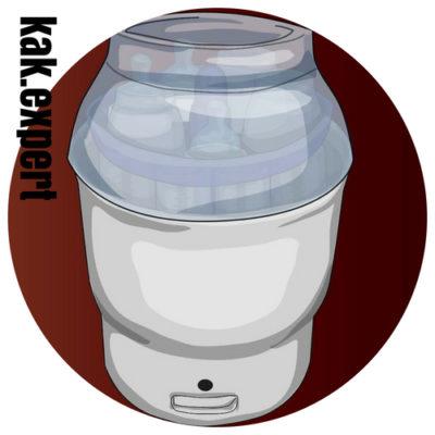 Электрический паровой стерилизатор 4