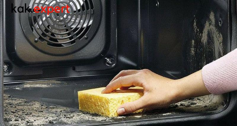 чистка печи в домашних условиях