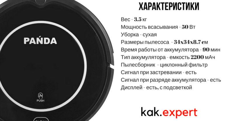 Характеристика Panda X500 Pet Series