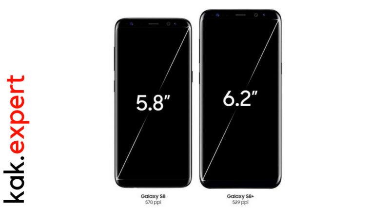 Разрешение телефона Samsung Galaxy S8