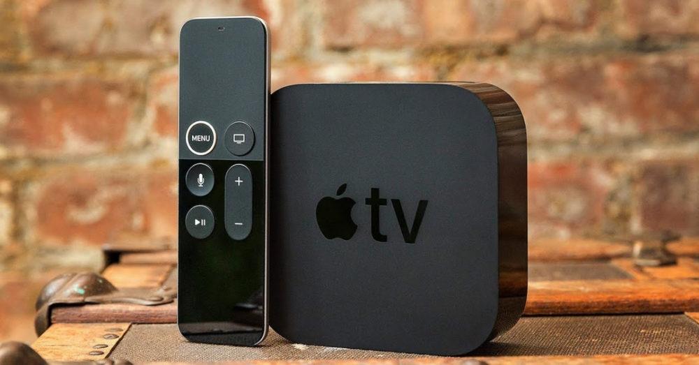 Apple TV 4K подарок на новый год