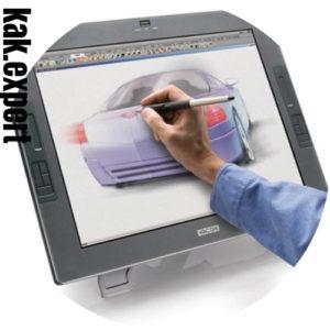 Интерактивный монитор для рисования