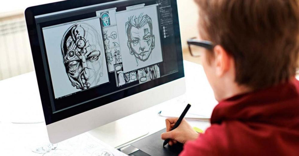 Принцип работы графического планшета