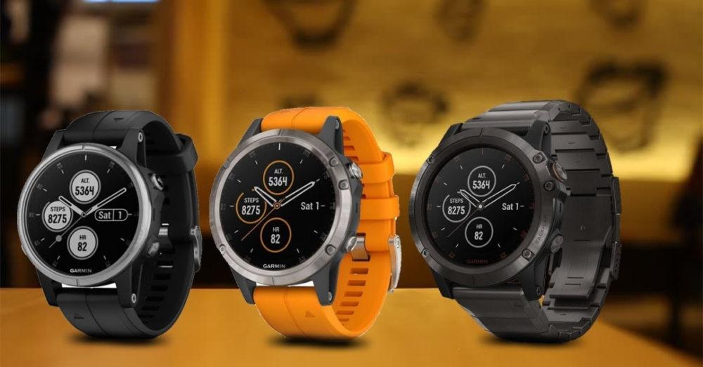 Garmin Fenix 5 Plus дизайн часов