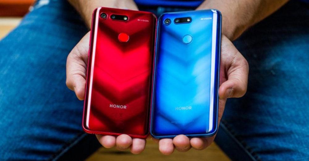 Huawei Honor View 20 дизайн