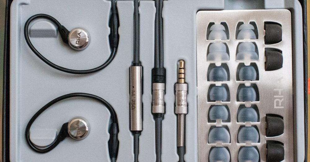 RHA MA750 Wireless комплектация