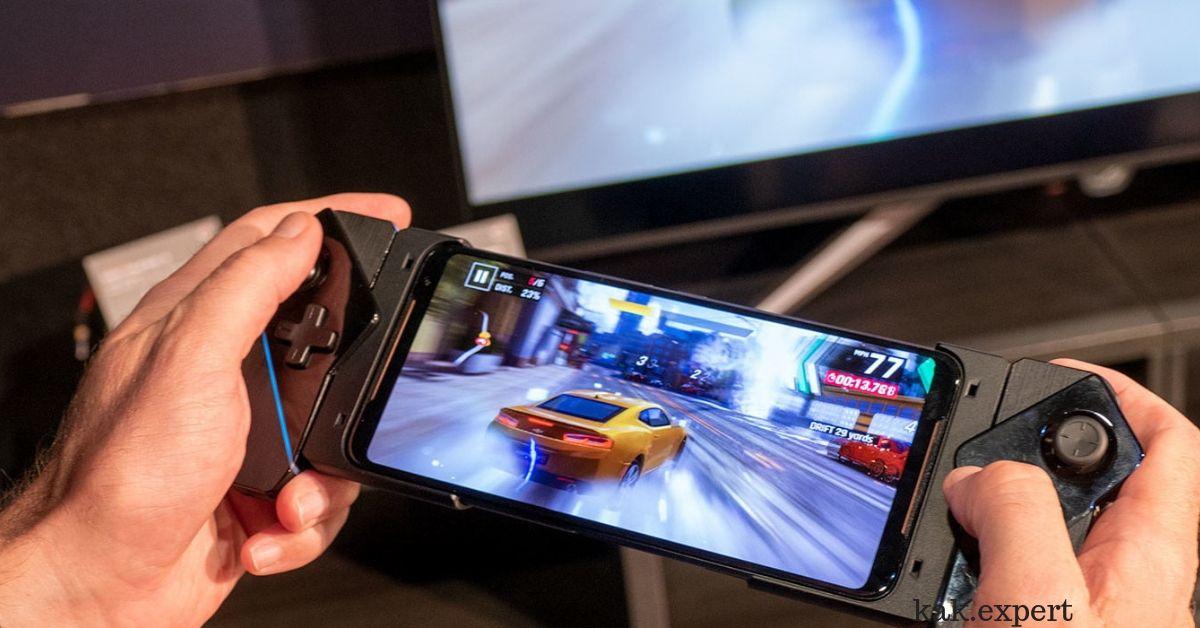 asus rog phone 2 игра на телефоне