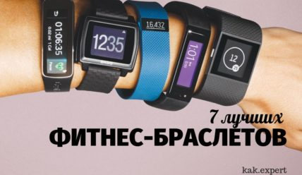 ТОП 7 фитнес-трекеров