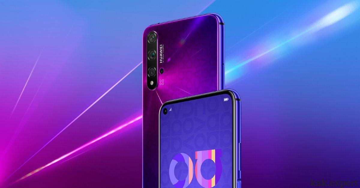 Нова 6 дизайн смартфона