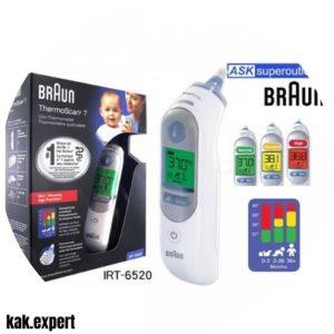 Braun ThermoScan7 IRT6520 термометр