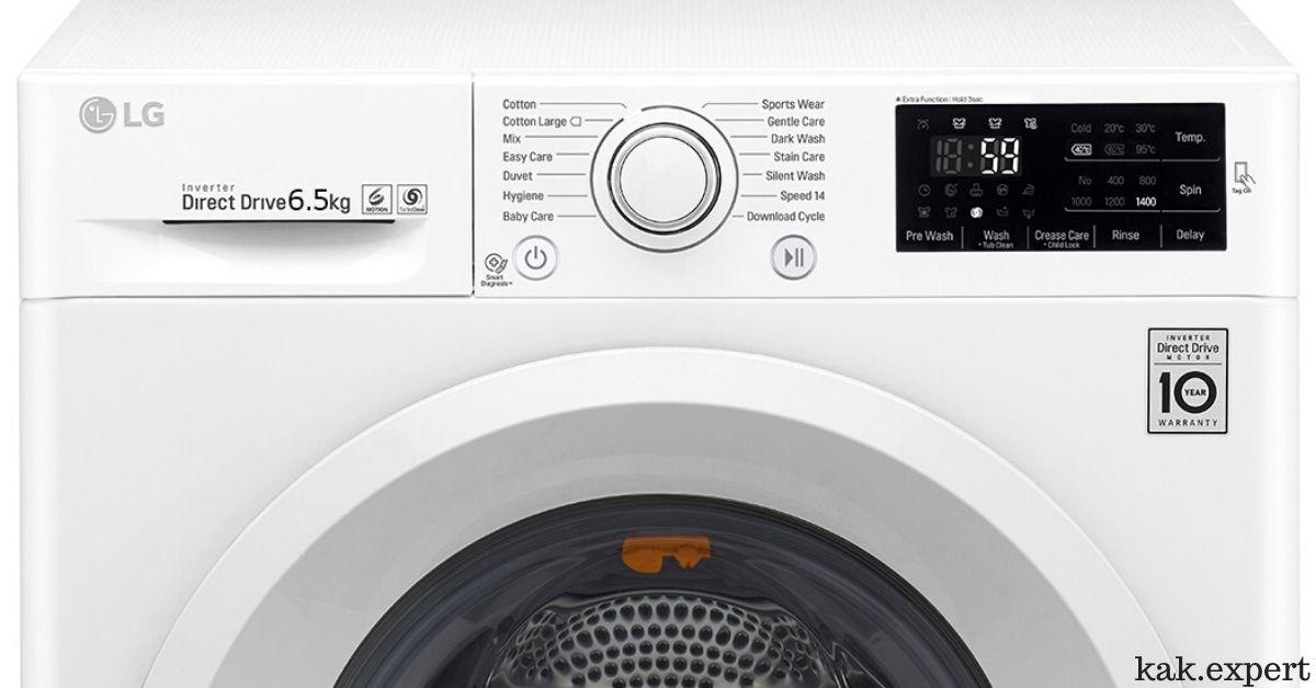 LG F2J5WN3W стиральная машина