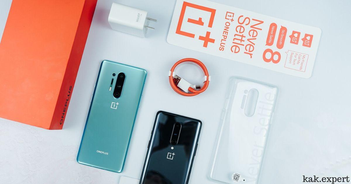 OnePlus 8 Pro дизайн
